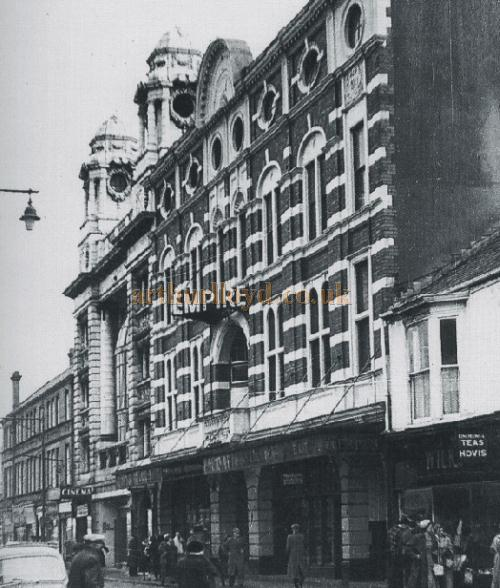 The Empire Theatre, Oxford Street, Swansea
