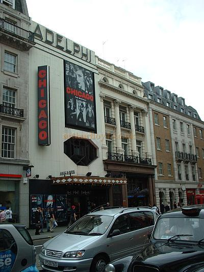 The fourth Adelphi Theatre during the run of Chicago in 2005, The Adelphi continues to be a very successful Theatre. - Photo M.L. 05.