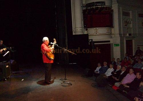 Charlie Gracie performing at the Theatre Royal, Windsor in November 2010 - Courtesy Charlie Gracie.