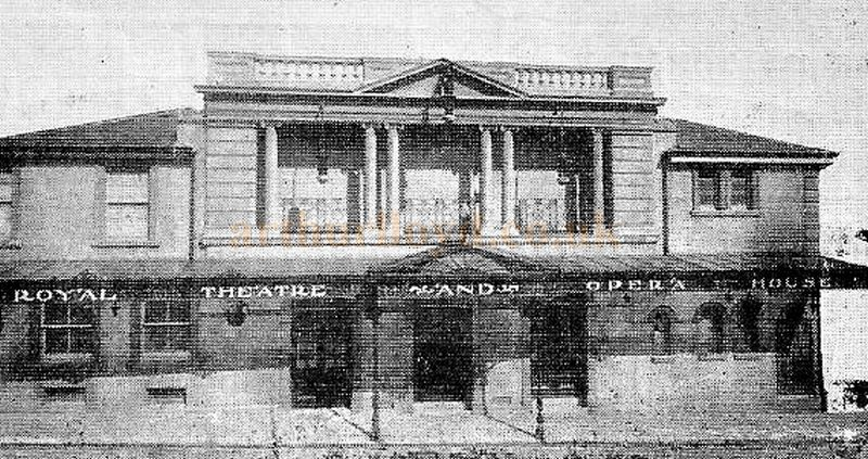 The Theatre Royal, Torquay - From a Programme circa 1905 - Courtesy Ron Knee.
