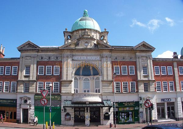 The Tunbridge Wells Opera House in August 2008 - Photo M.L. - For many external and internal images of the Theatre in 2008 Click Here.
