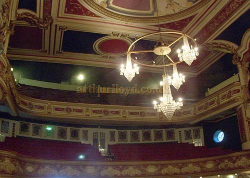 The auditorium of the Tunbridge Wells Opera House in 2008. M.L. For many more internal images of the Theatre Click Here.