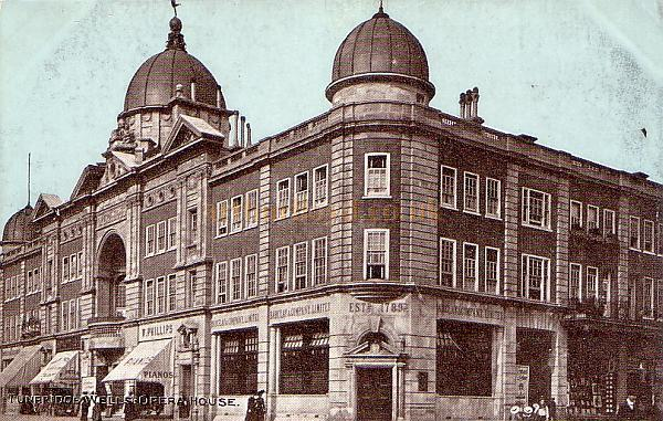 Another postcard view of the Opera House, Tunbridge Wells