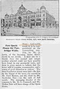 The Playgoer report on the construction of the Opera House in 1901