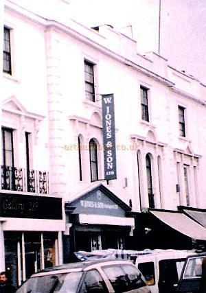 A Photograph of the exterior of the former Twentieth Century Theatre in 1998 - Courtesy The Margaret & Brian Knight Collection.