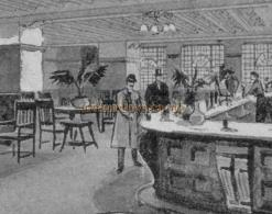 Grill Room of the Royal Standard Music Hall from a programme dated May 2nd 1904
