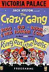 Programme for the Crazy Gang at the Victoria Palace Theatre