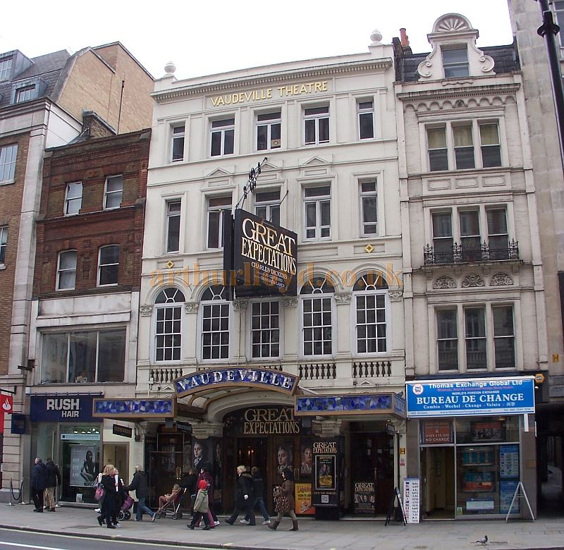 The Vaudeville Theatre during the run of 'Great Expectations' in March 2013 - Photo M.L.