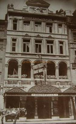 The Vaudeville Theatre in 1917 - From a Postcard.