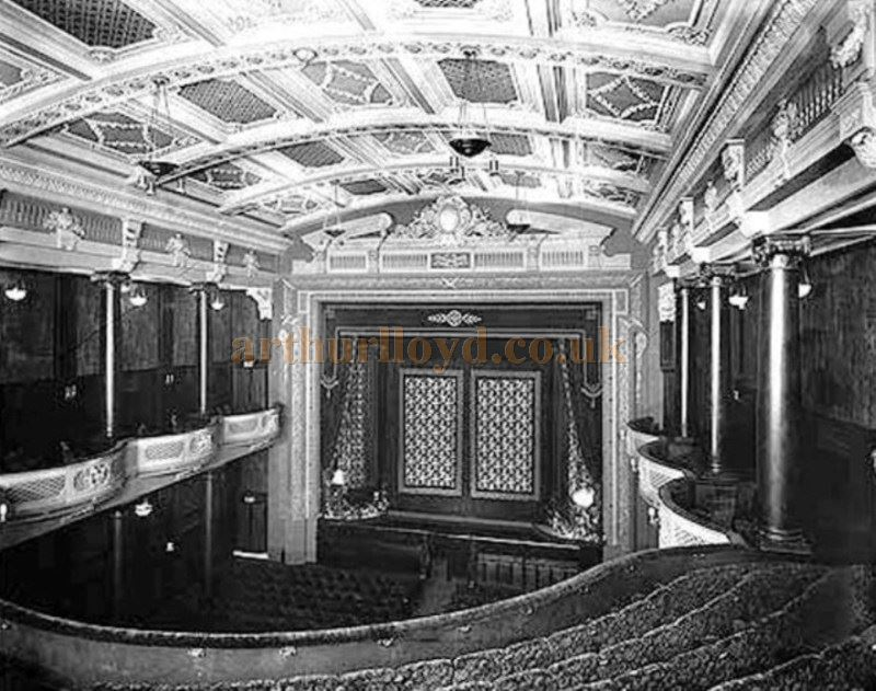 The Auditorium of the Picture House, Walsall from The Architectural Review of 1920 - Courtesy Mike Blakemore