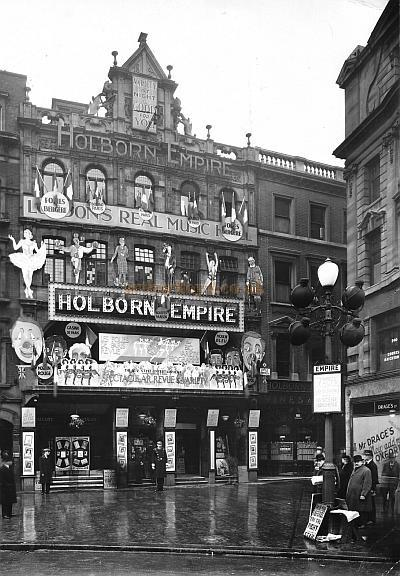 The Holborn Empire in its heyday - Courtesy Peter Charlton