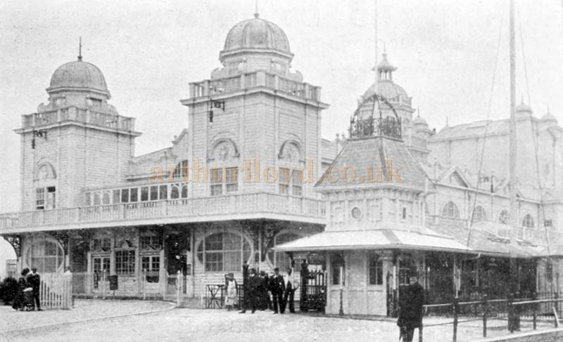 The Pavilion Theatre, Weymouth - From 'The Stage Year book' of 1910