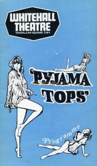 Programme for 'Pyjama Tops' at the Whitehall Theatre.
