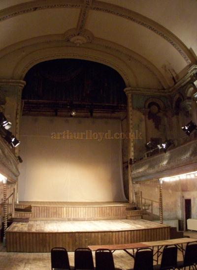 The Stage of Wilton's Music Hall in August 2011. - Photo M.L.