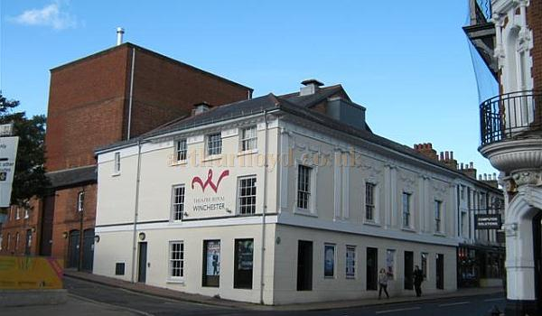The Theatre Royal, Winchester in 2010 - Courtesy KR.