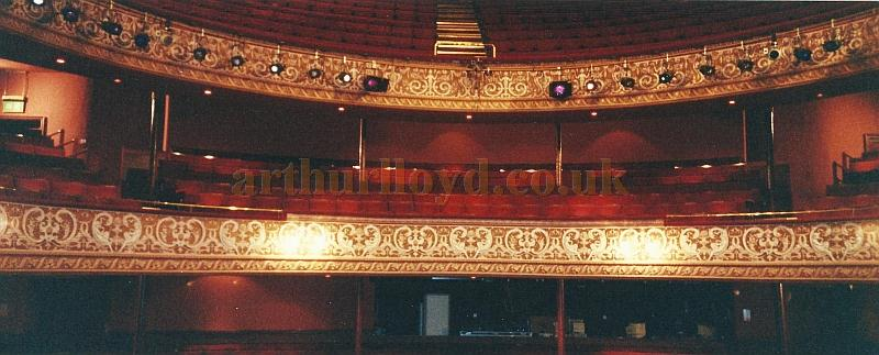 The auditorium of the Grand Theatre, Wolverhampton in 2002 - Courtesy David Garratt