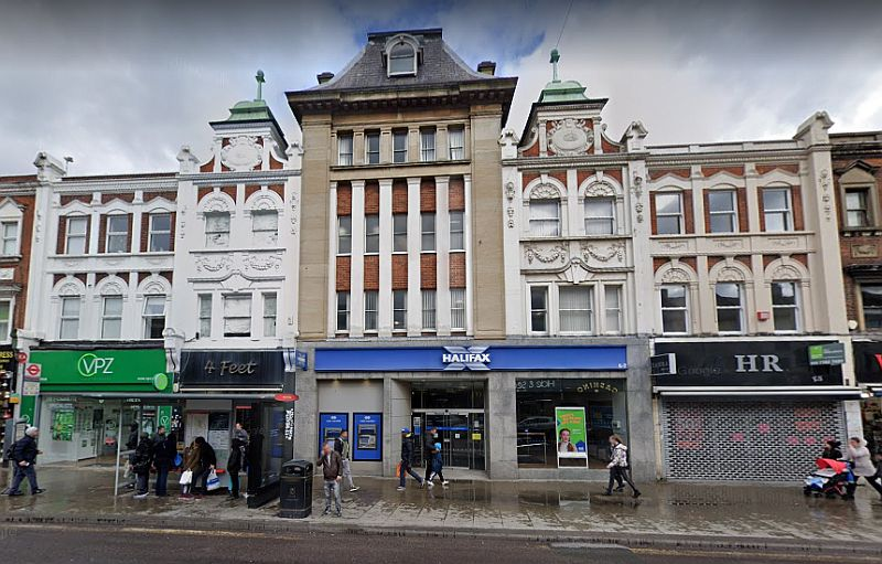 A Google StreetView Image of the former Wood Green Empire - Click to Interact.