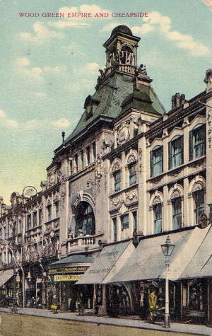 The Wood Green Empire - From a period Postcard.