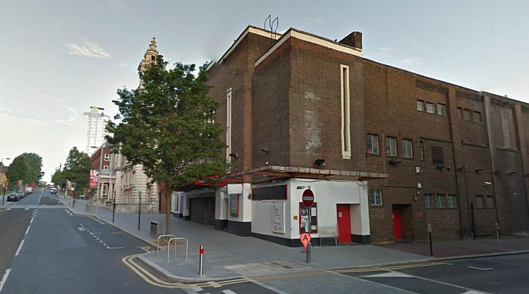 A Google StreetView Image of the Woolwich Grand and Town Hall today - Click to Interact