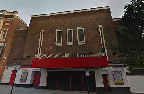 A Google StreetView Image of the Woolwich Grand today - Click to Interact.