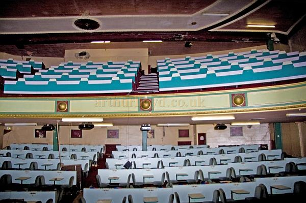 The auditorium of the 1927 Opera House, Workington - Photo Joe Moody - Courtesy Andrew Williamson.