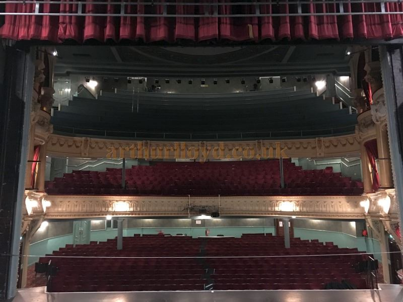 The Auditorium of the York Opera House in a photograph taken from the Stage in May 2016 - Courtesy Michael Shaw