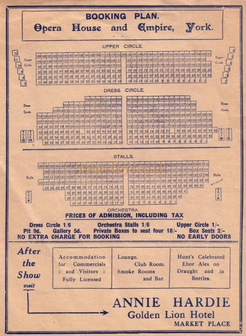 York Grand Opera House Seating PlanGrandHome Plans Ideas