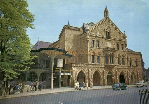 The Theatre Royal, York - From a recent Postcard - Courtesy Alan Chudley.