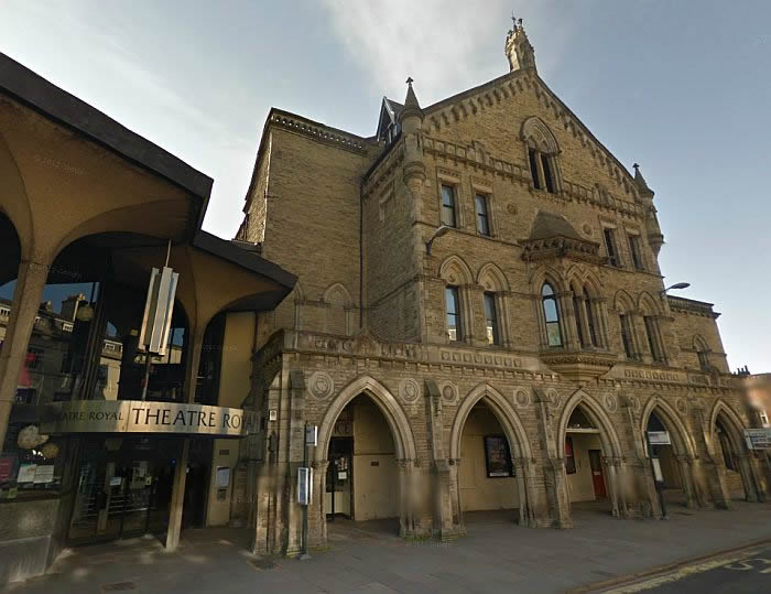 A Google StreetView image of the Theatre Royal, York - Click to Interact